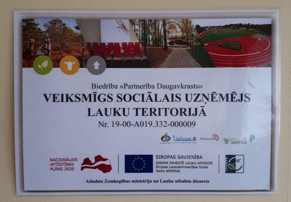"""Atskats uz LEADER sadarbības projekta """"Veiksmīgs sociālais uzņēmējs lauku teritorijā"""" aktivizēšanas semināriem"""