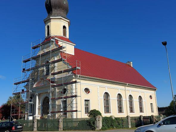 Doles -Ķekavas evaņģēliski luteriskās baznīcas jumta atjaunošana ar LEADER atbalstu
